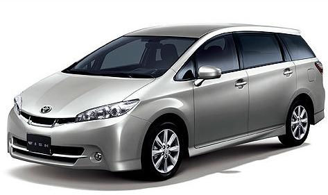 Toyota New Wish 東山租車